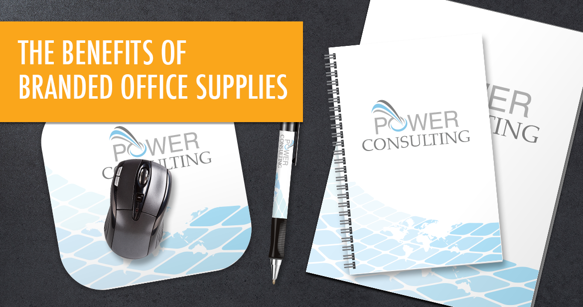 The Benefits of Branded Office Supplies