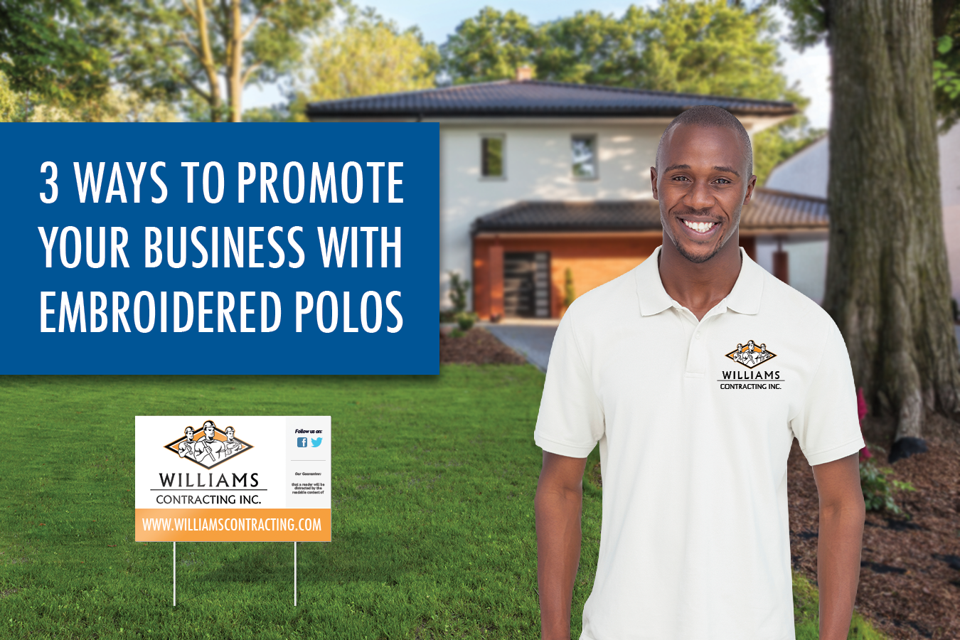 ways to promote your business with embroidered polos
