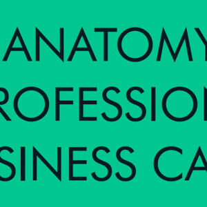 The Anatomy of a Professional Business Card
