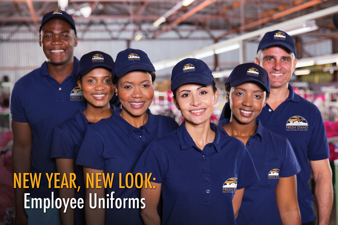 branded employee uniforms
