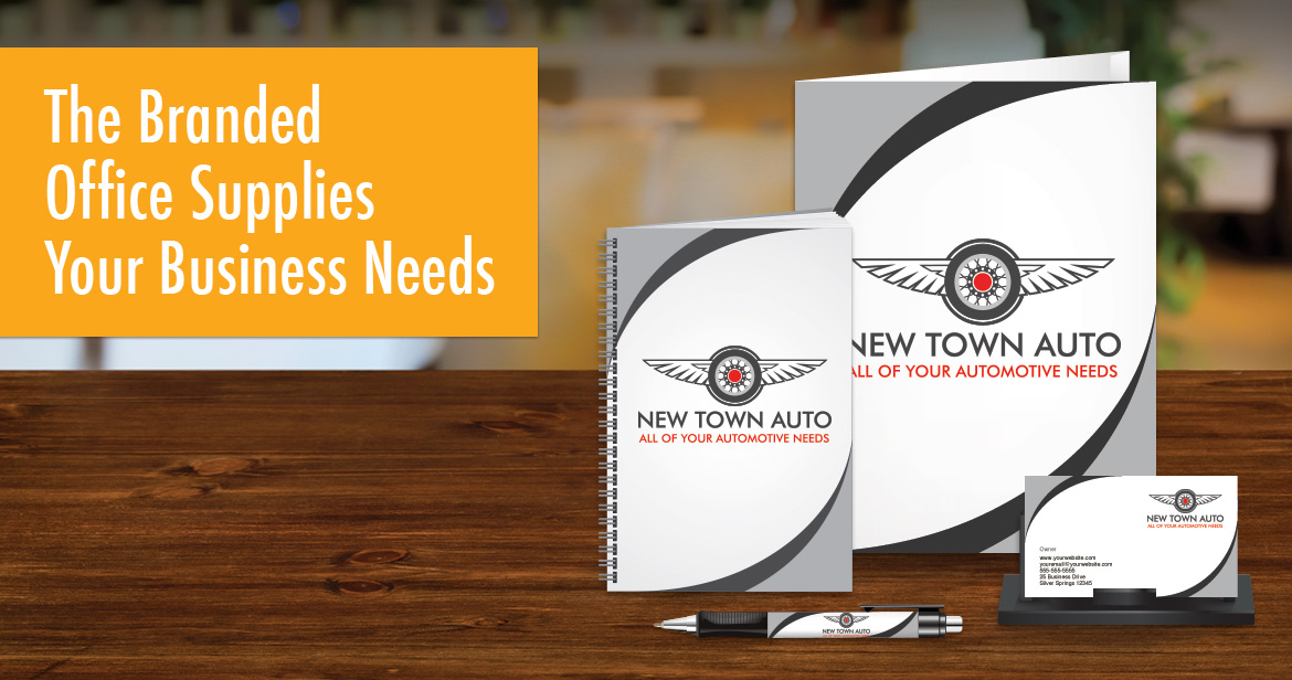 The Branded Office Supplies Your Business Needs