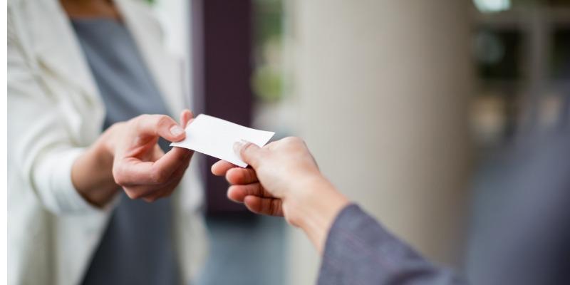 10 Endroits Astucieux Ou Laisser Vos Cartes De Visite