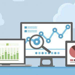 SEO analytics displayed on devices