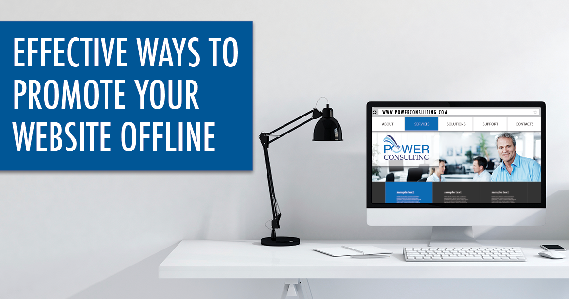 ways to promote your website offline