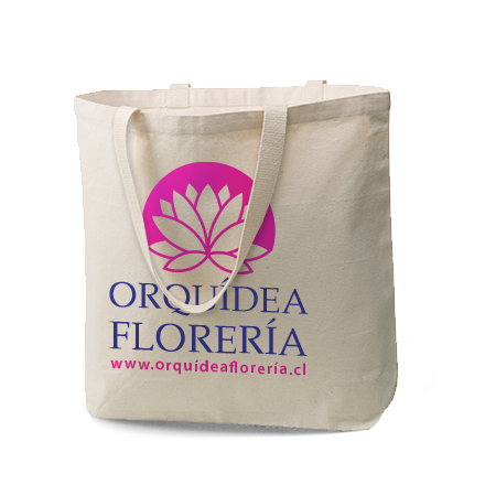 custom canvas tote bag with logo