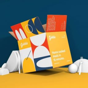 Gobble packaging by Studio Mast