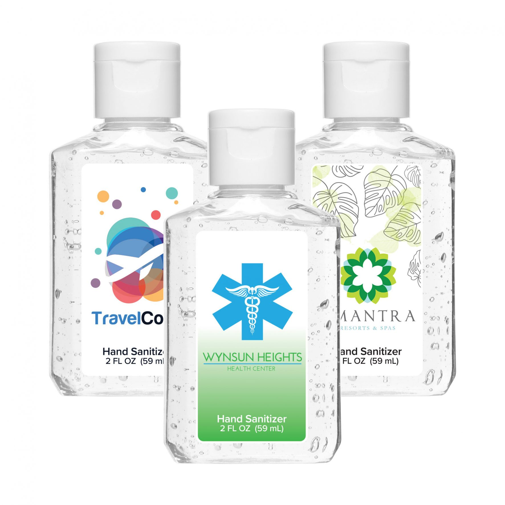 Sample Image of our Custom Hand Sanitizer