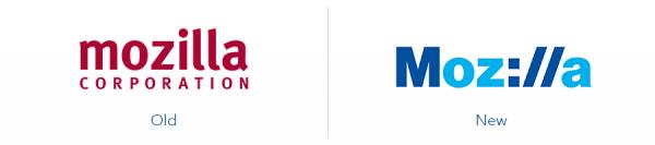 older mozilla logo version versus new mozilla logo version