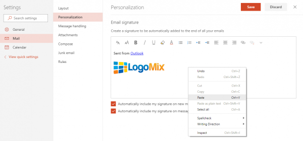 How To Add A Logo To Your Email Signature Gmail Yahoo