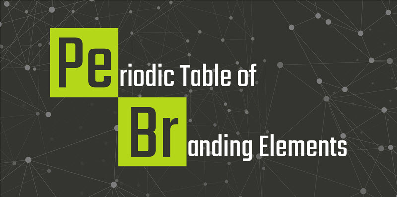 Periodic Table of Branding Elements