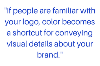 quote about logo colors