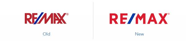 older remax logo version versus new remax logo version