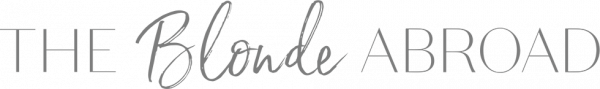 The Blonde Abroad logo