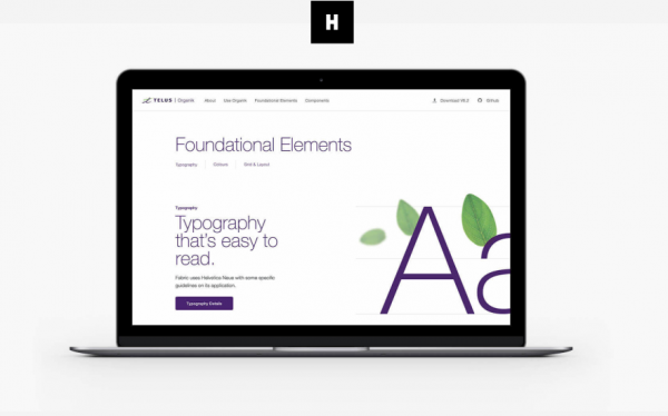 Telus web design by Huge Inc.