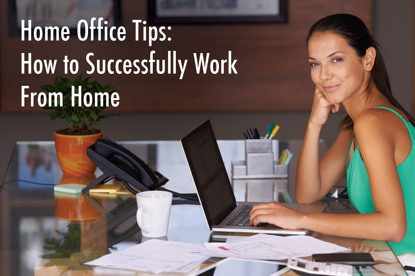 Home office tips how to successfully work from home - Office opslag tip ...