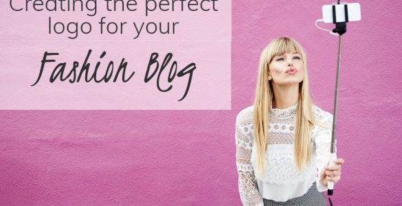 blonde taking selfie against pink walll