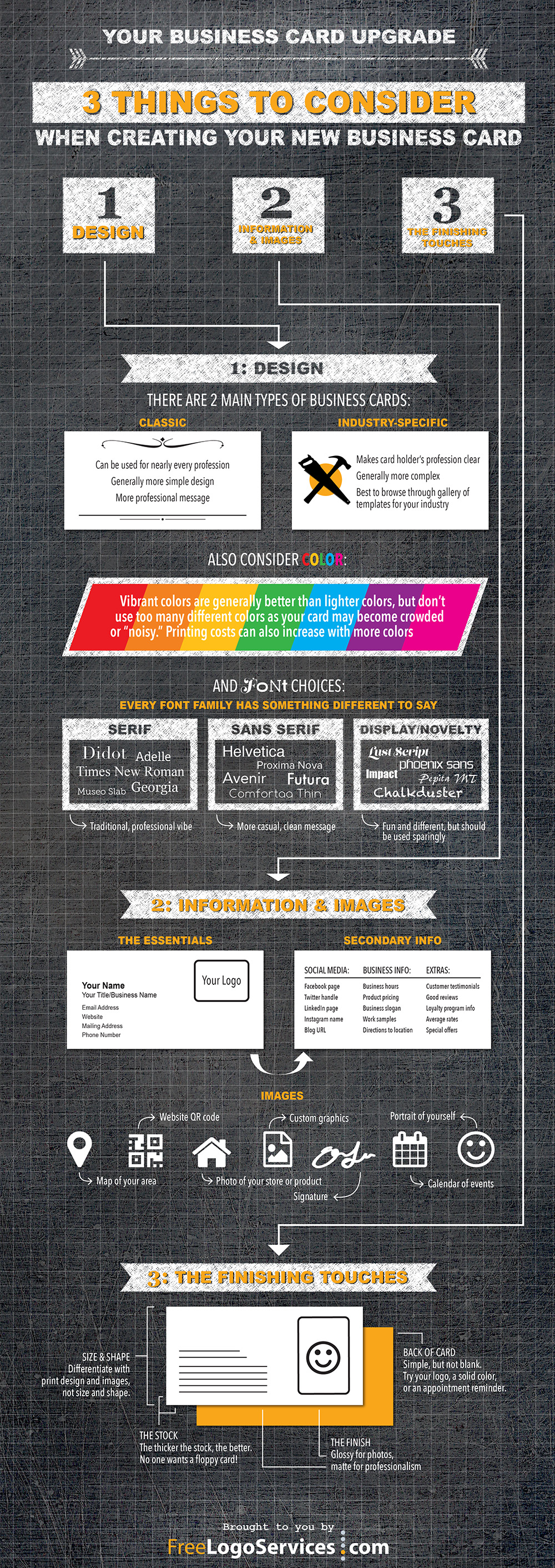 The only business card infographic you need business card maker business card infographic reheart Images