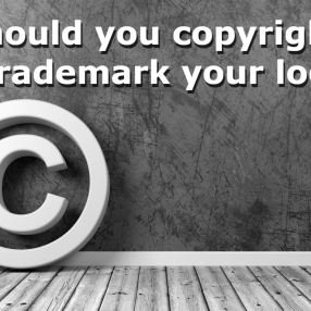 copyright your logo