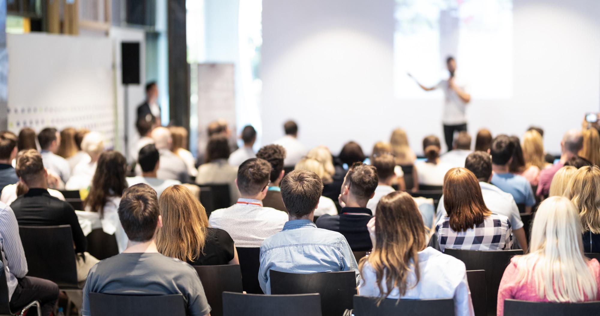 keynote speaker at conference event