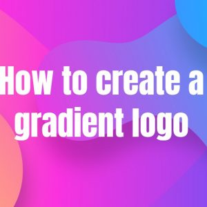 How to create a gradient logo