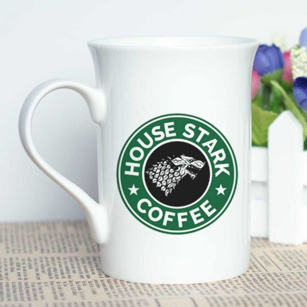 House Stark Starbucks Coffee logo