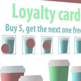 loyalty card mock-up