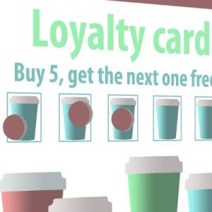 loyalty card mock-up