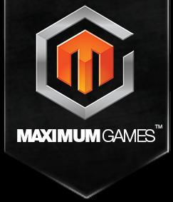 maximum games logo design