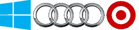 Geometric shape logo examplese