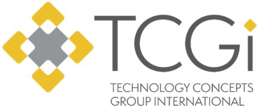 technology concepts group logo design