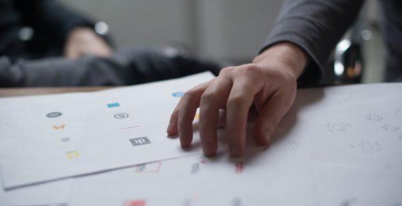 turning a hand-drawn logo into a digital file