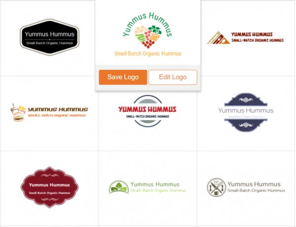 select a logo