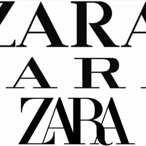 progression of Zara's logo designs